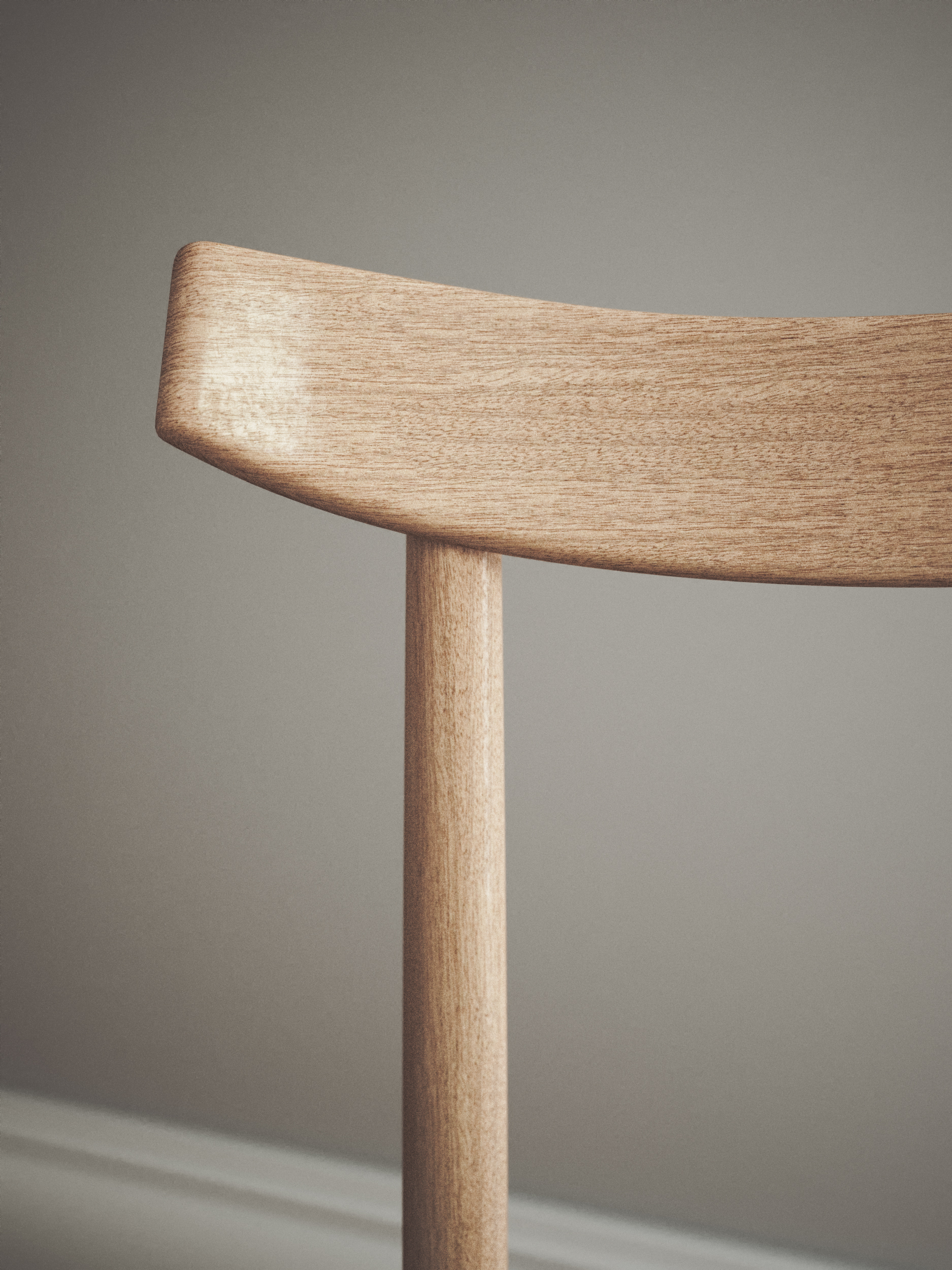 Elbow green and wood dining chair and table Scandinavian